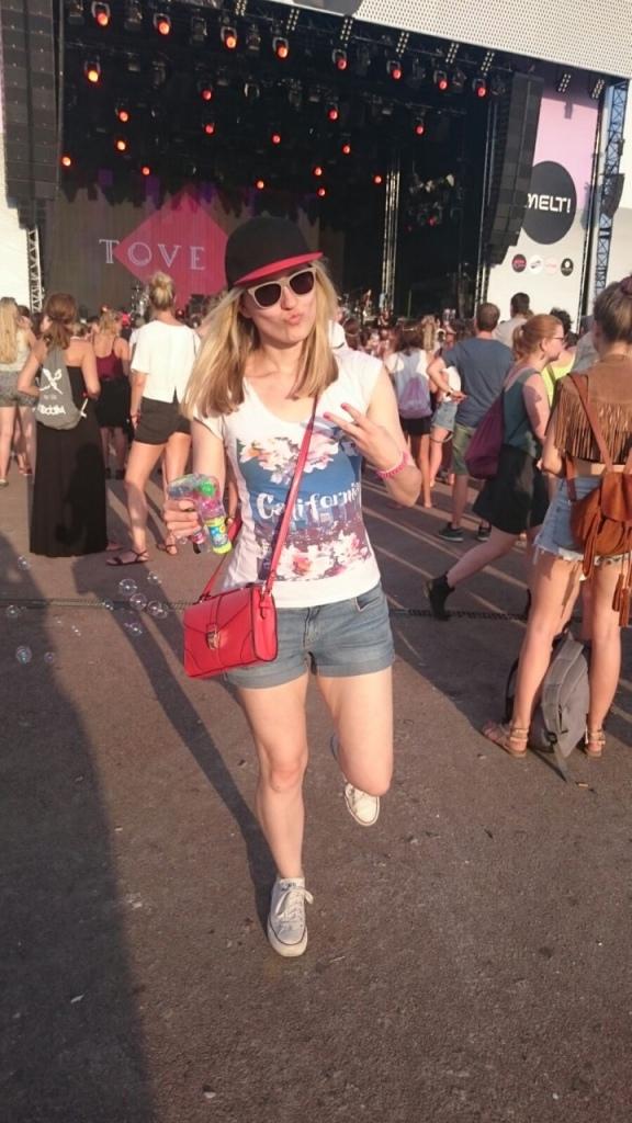 Tove Lo beim Melt Festival